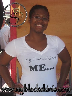 "Image of ""my black skin is Me..."""