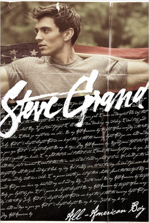 Image of All-American Boy Lyric Poster