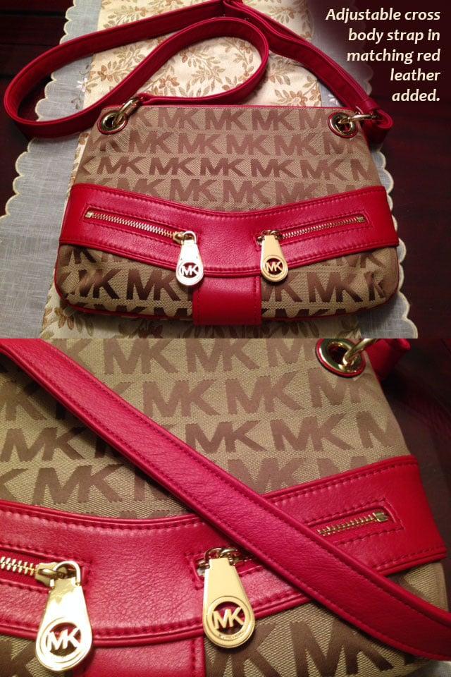 dbabdcd2d7d3 ... Image of Custom Replacement Straps   Handles for Michael Kors (MK)  Handbags Purses ...
