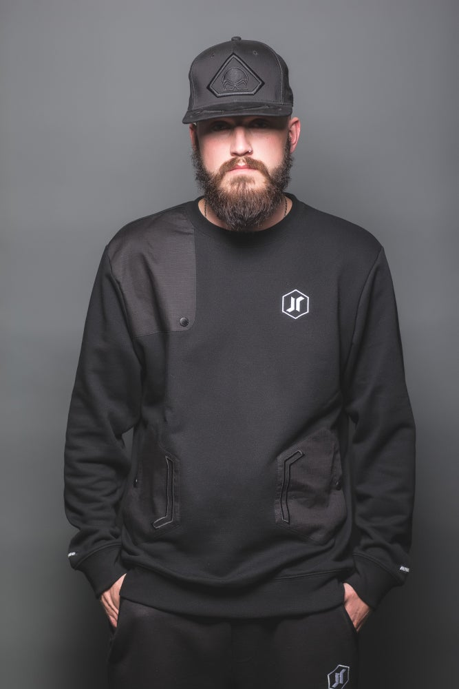 Image of GEO 14 BLACKOUT CREWNECK