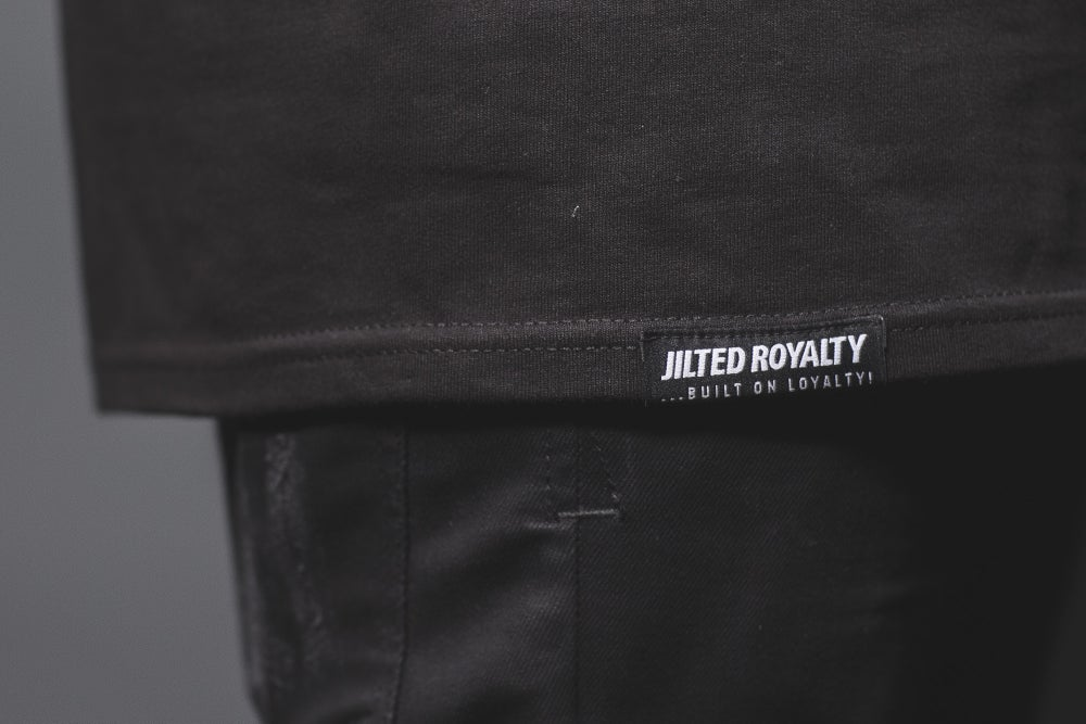 Image of GEO 14 BLACKOUT TEE (WHITE ON BLACK)