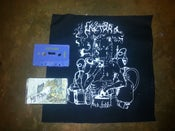 Image of Methra Cassette, Vinyl and Backpatch/sticker combo