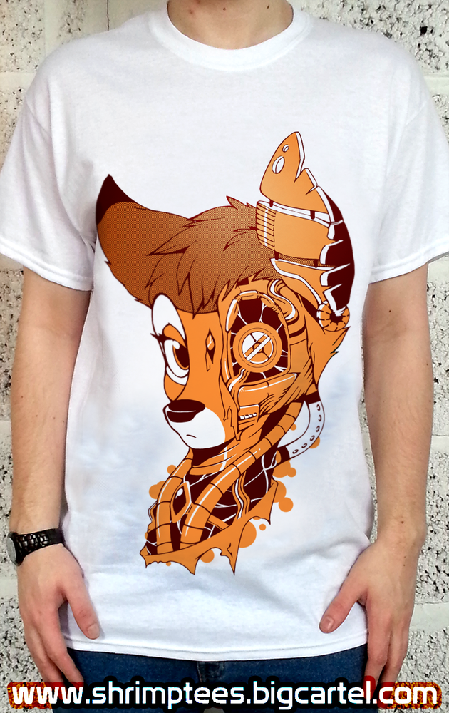 Image of PRE-ORDER NEO CYBER-FAWN TEE