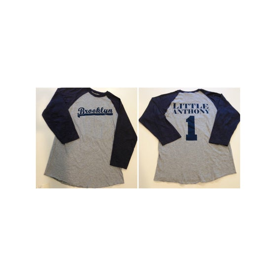 Image of Little Anthony Baseball Jersey