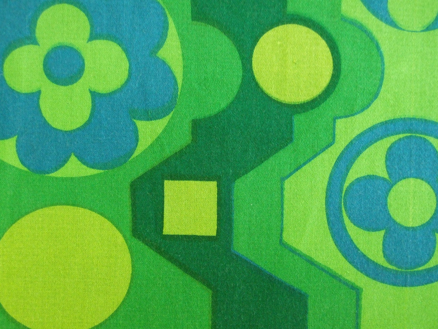 Image of Francis Price 'Malaga' vintage fabric