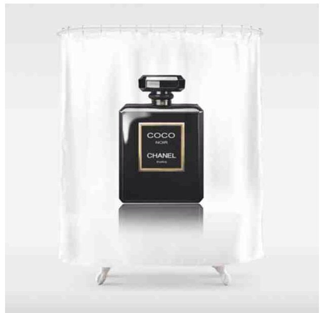 Image Of Chanel 5 Shower Curtain