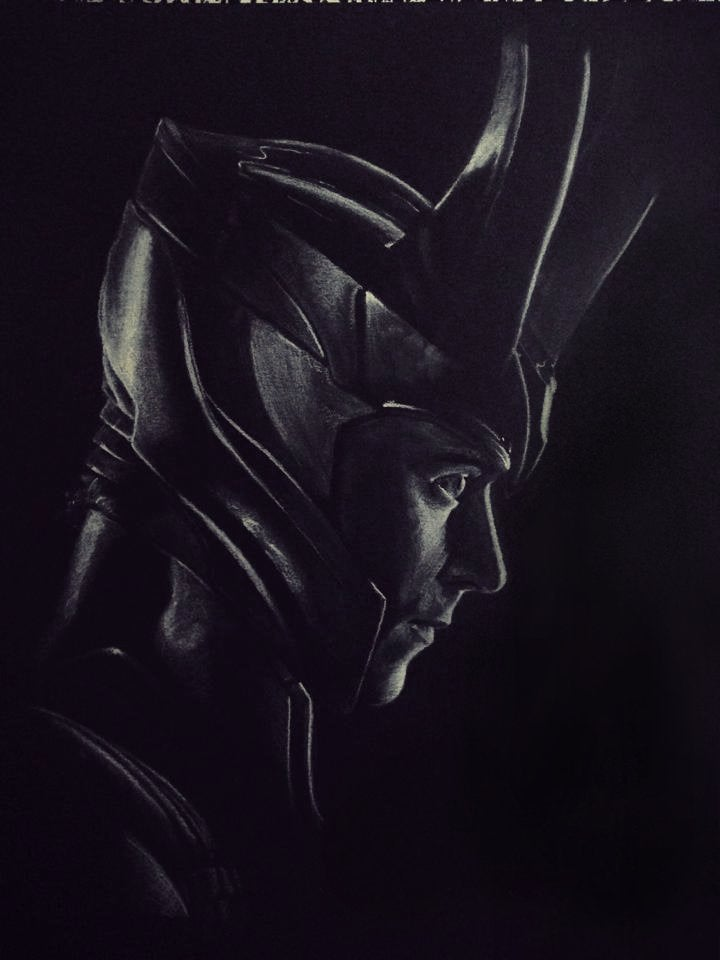 Image of God of Mischief • Prints.