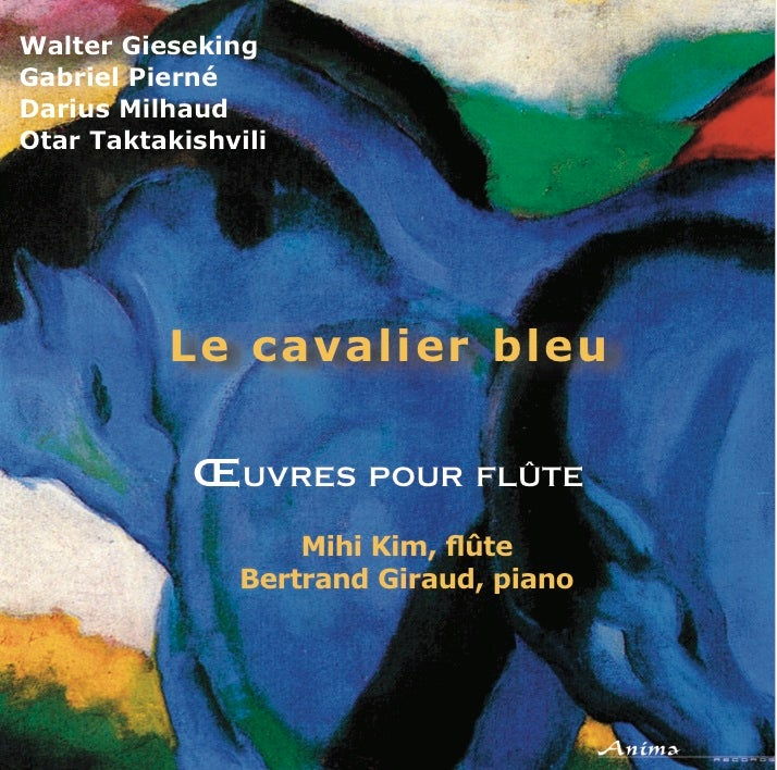 Image of Le cavalier bleu - CD