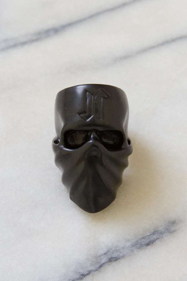 Image of DEATH SKULL RING (USA SIZE 9) - BLACK