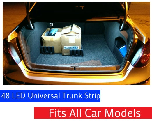 Image of Universal 48 LED Flexible Strip for your Trunk [Fits all Car Models]