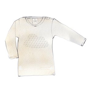 Image of Long Sleeve Cloud T-Shirt