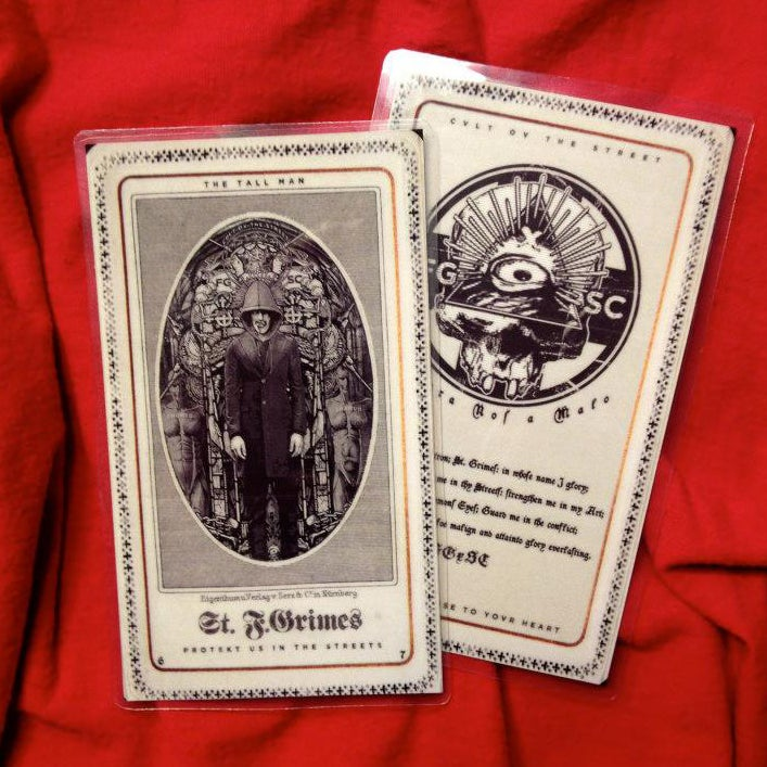 Image of ST.GRIMES - prayer card