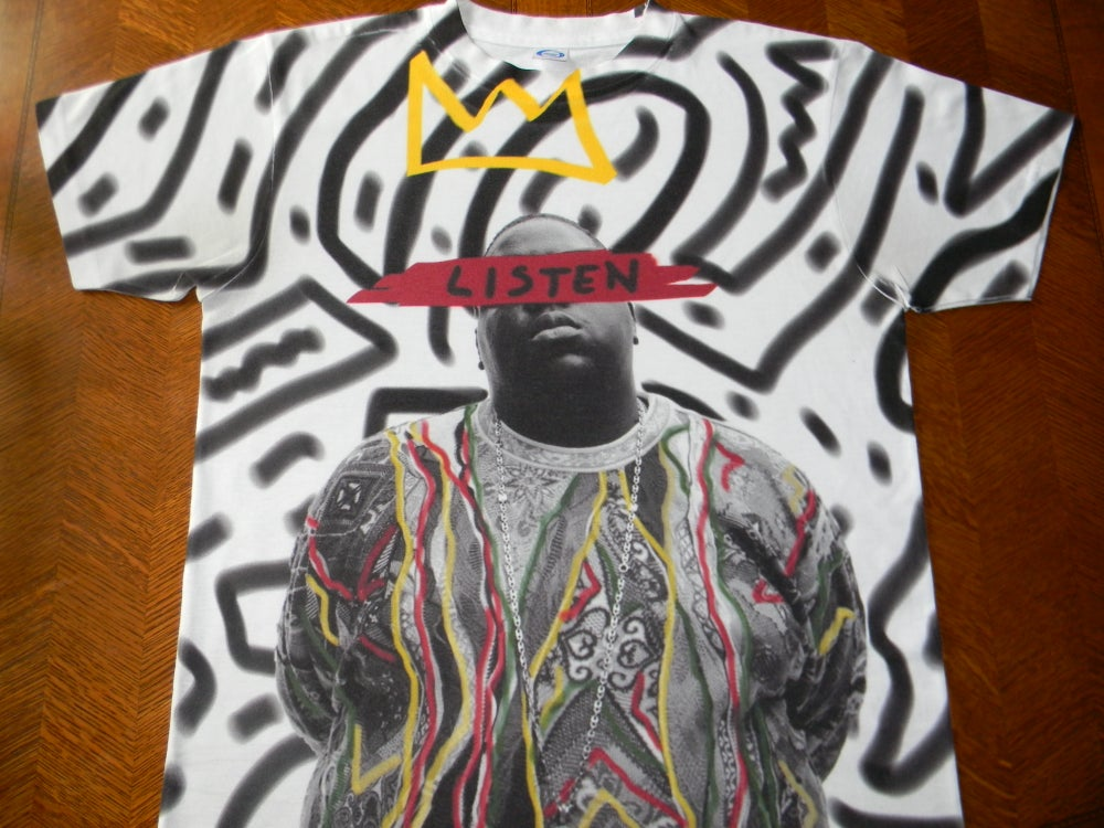 "Image of Biggie ""LISTEN"""