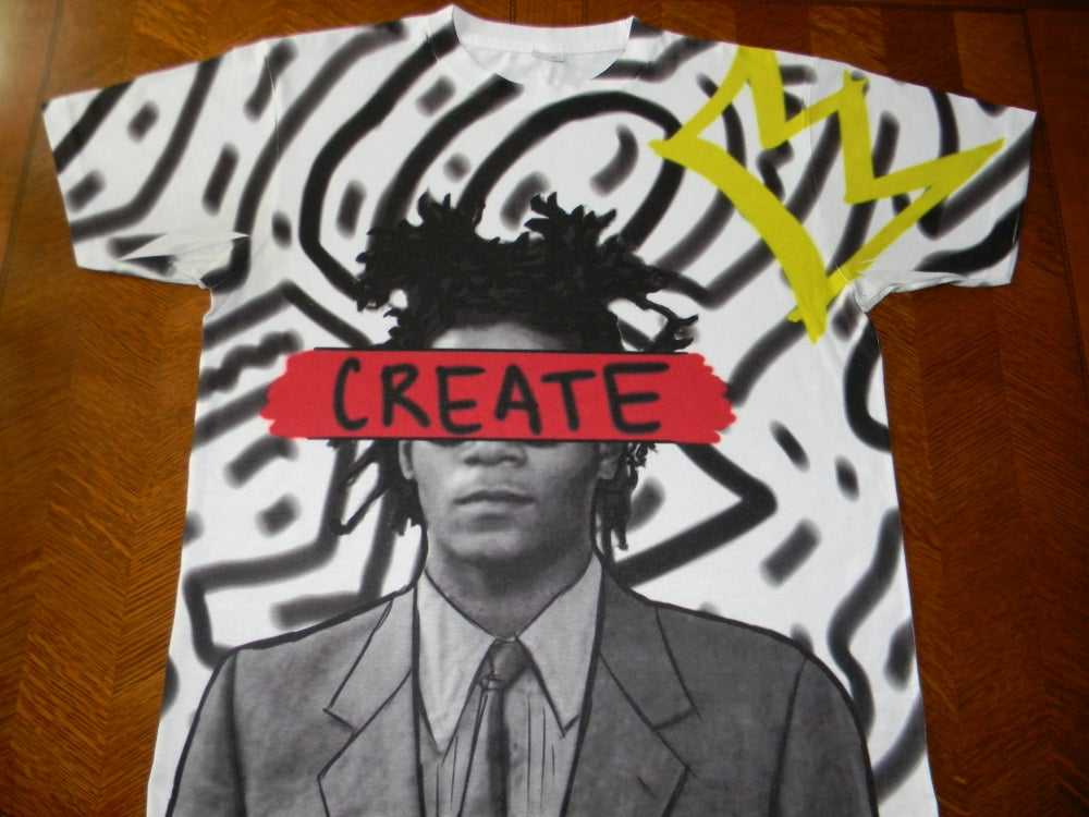"Image of Basquiat ""CREATE"""
