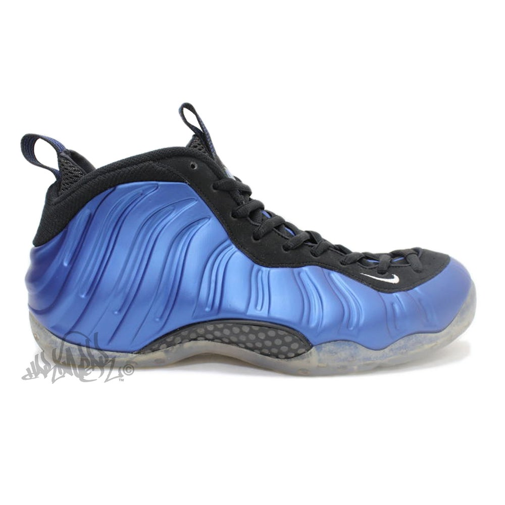 Image of NIKE AIR FOAMPOSITE ONE - DARK NEON ROYAL - 314996 500