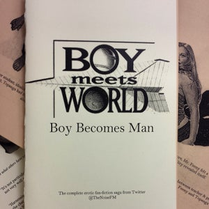 Image of Boy Meets World: Boy Becomes Man Erotic Fan-Fiction