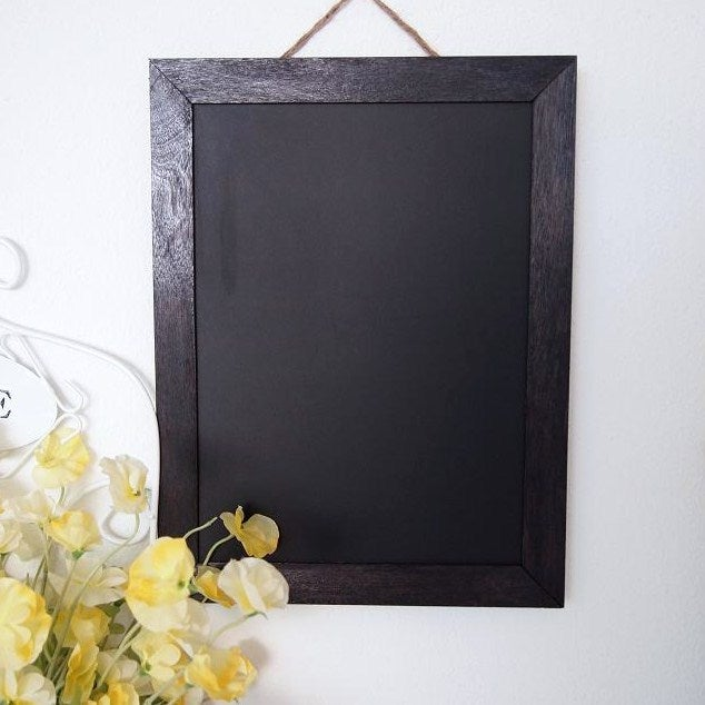 Chalkboard with Black Frame