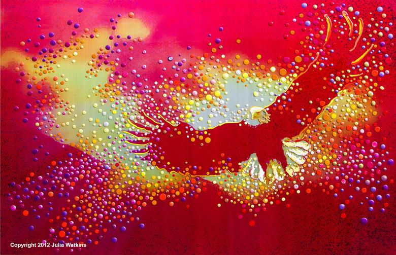 Image of Red Eagle - Divine Messenger