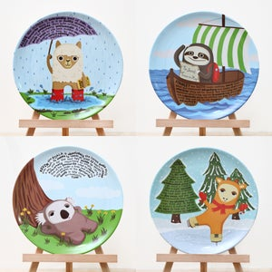 Image of Plates - set of 4