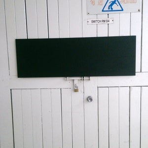 Long Frameless Chalkboard