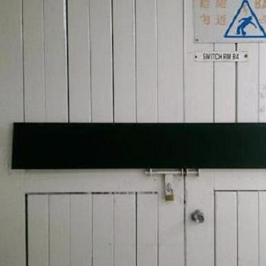 Image of Long and Narrow Frameless Chalkboard