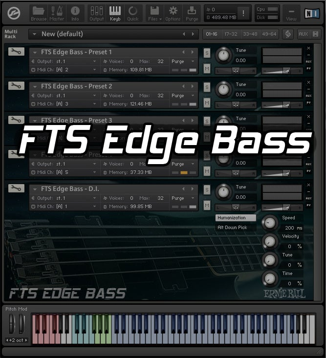 Image of FTS Edge Bass