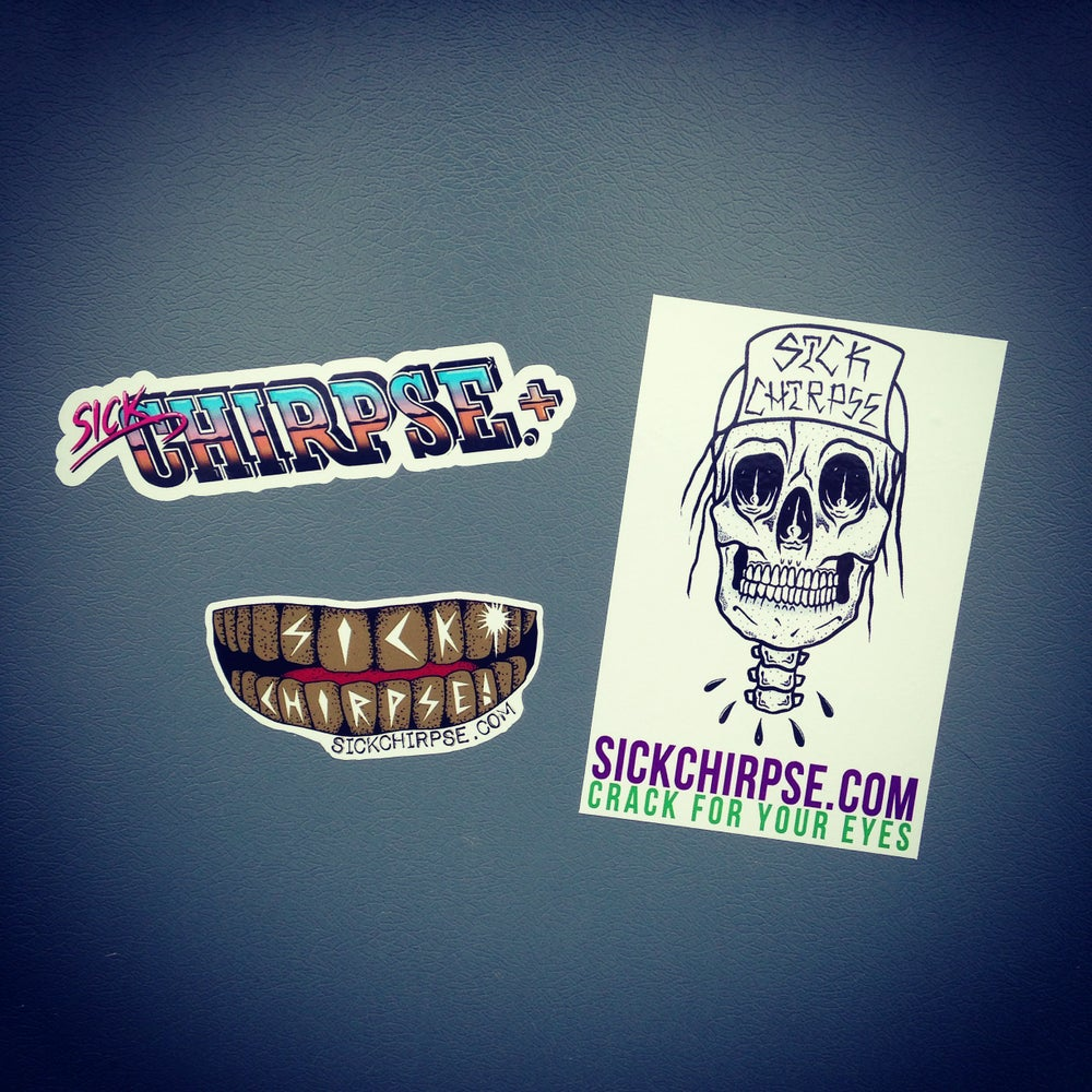 Image of Sick Chirpse Sticker Pack