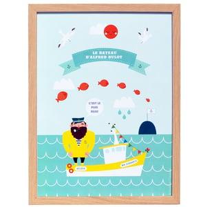 "Image of Print ""Le beau bateau d'Alfred Bulot"""