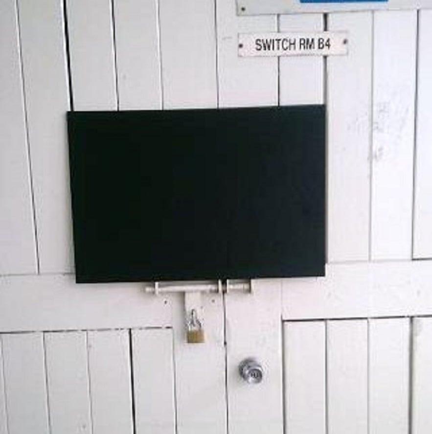 Image of Rectangular Frameless Chalkboard