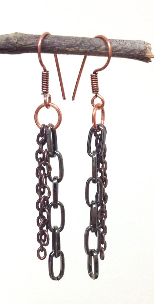 Image of Chained Earrings