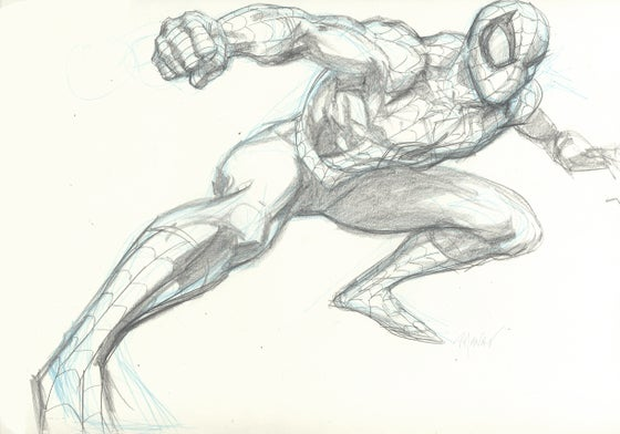 Image of SPIDER-MAN Original Art 05