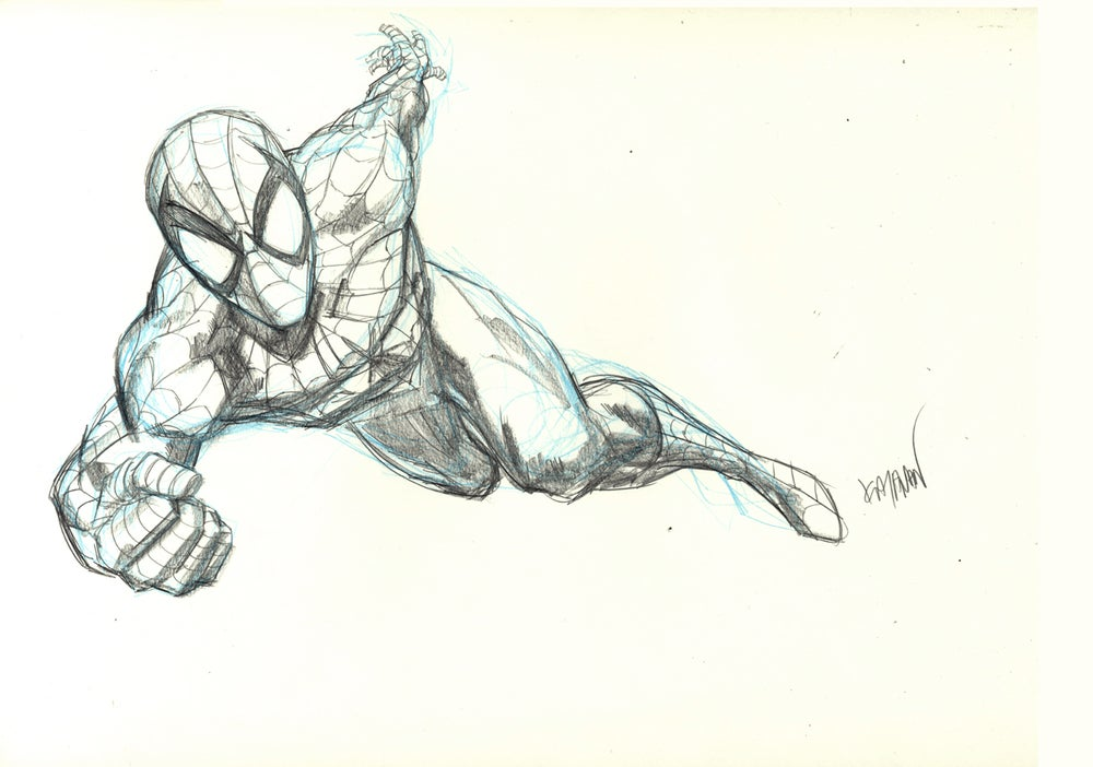 Image of SPIDER-MAN Original Art 06