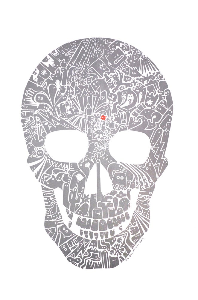 Image of Silver Skull