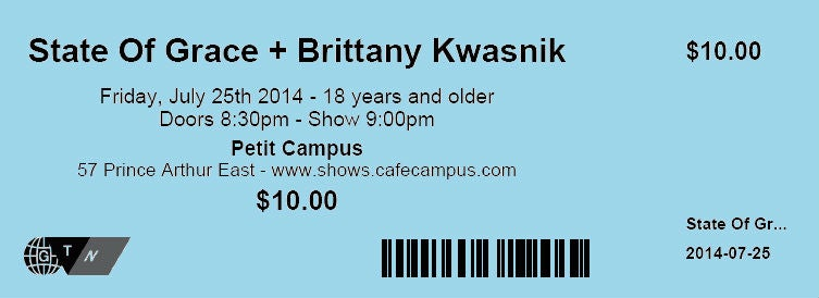 Image of Cafe Campus Tickets