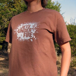 Image of Jets Under Fire Splatter Tee