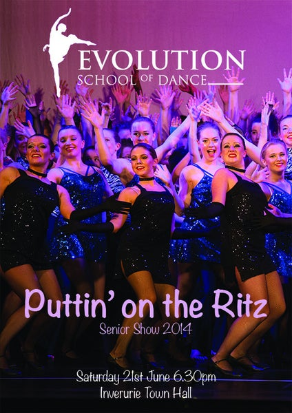 Image of Evolution School of Dance - Puttin' on the Ritz - Senior Show 2014