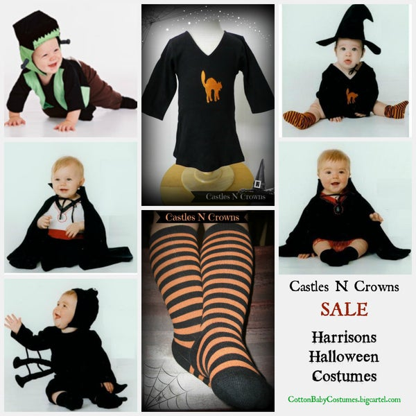 Image of Harrisons Halloween Cotton Baby Costumes SOLD OUT