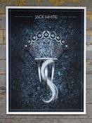 Image of Jack White poster Dublin, Ireland 2014