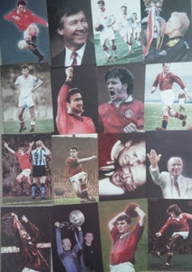 Image of Pack of MUFC legends various Postcards