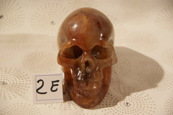 Image of Crâne Quartz Hématoïde 1,350 Kg