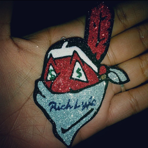 Image of RichLyfe Klothing Logo Necklace