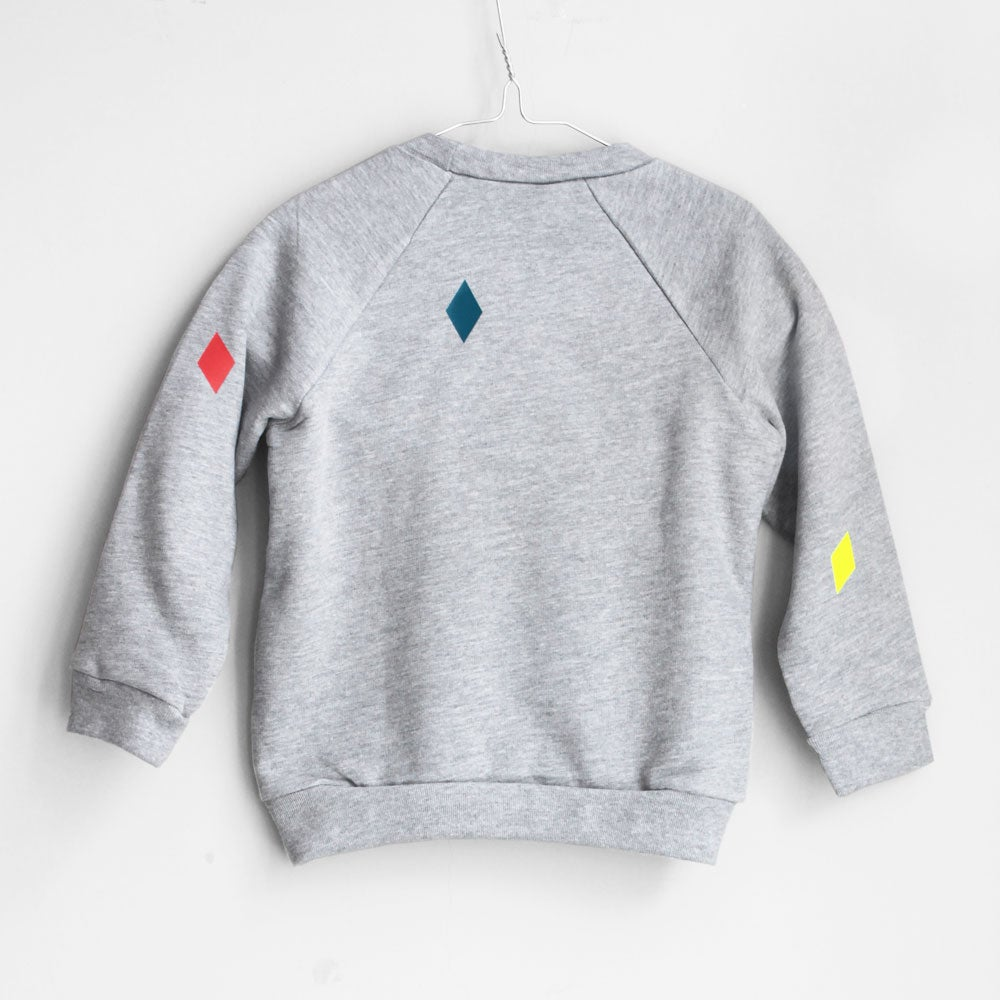 Image of Sweater Diamond grey