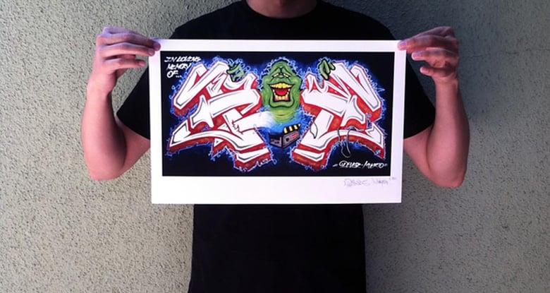 Image of RAY Mural - Print