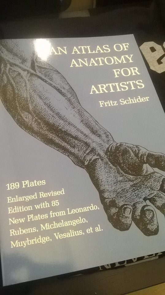 AN ATLAS OF ANATOMY FOR ARTISTS\
