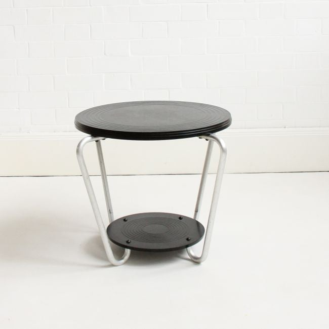 Image of 1930's Bakelite side table