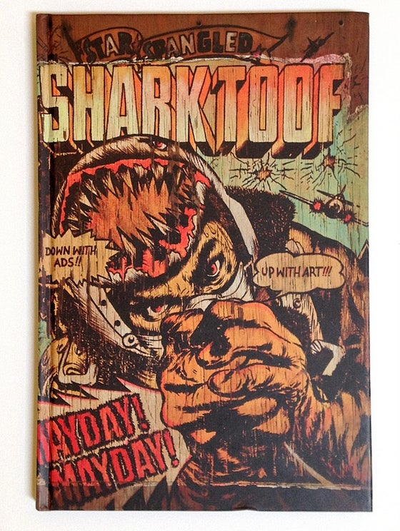 Image of Signed SHARK TOOF Book