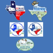 Image of 2011 - 2014 Bluebonnet Rally T-Shirts
