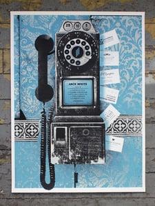 Image of Jack White poster European tour 2014