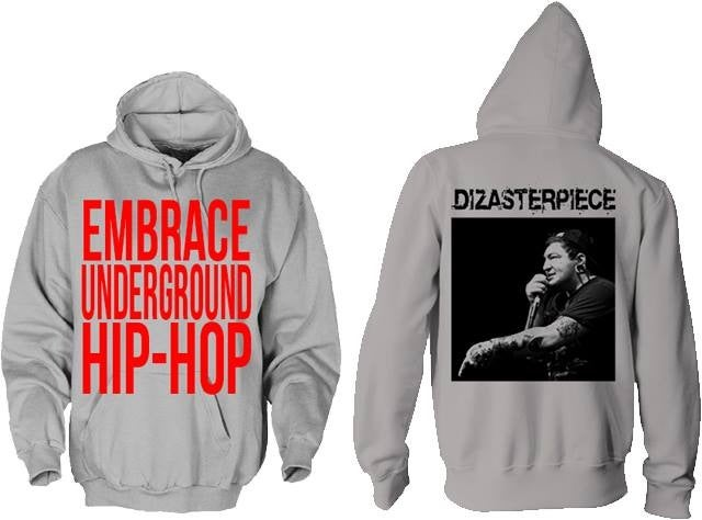 Image of EMBRACE UNDERGROUND HIP-HOP Hoodie
