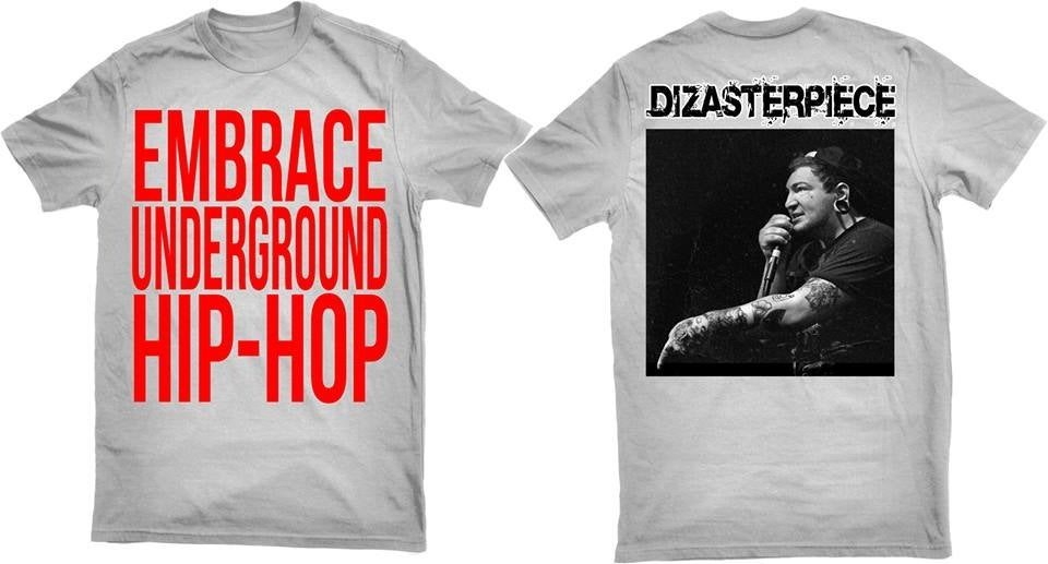 Image of EMBRACE UNDERGROUND HIP-HOP T-Shirt